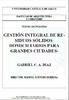 Gestión integral de residuos sólidos domiciliarios para grandes ciudades / Diaz, Gabriel C.A. (1999) - application/pdf
